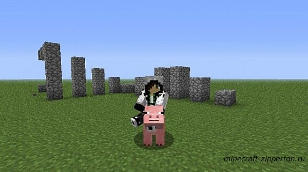 [mod] Craftable saddles and controllable pigs [1.2.5]