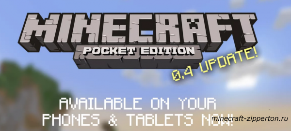 Minecraft Pocket Edition 0.4.0 - MCPE 0.4.0