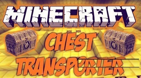 Minecraft Chest Transporter 1.7.5