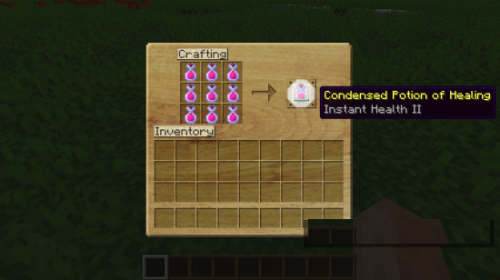 Мод Condensed Potions 1.7.5