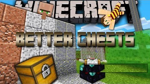 Better Chests Mod 1.7.2