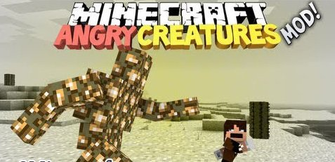 Angry Creatures Minecraft 1.5.2