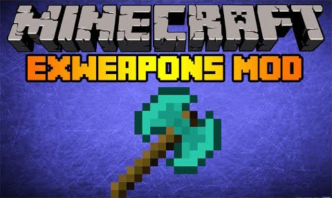 Exweapons mod 1.7.10