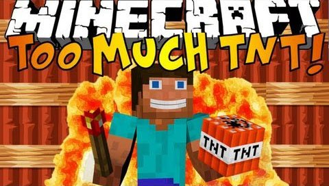 TOO MUCH TNT mod 1.7.10