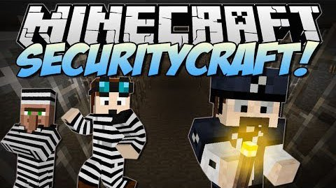 SecurityCraft мод 1.8