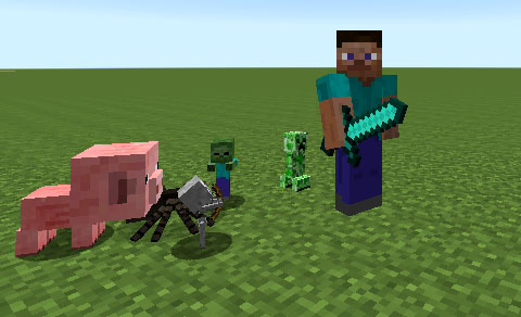 Мод Iskall Mini Mobs 1.7.10
