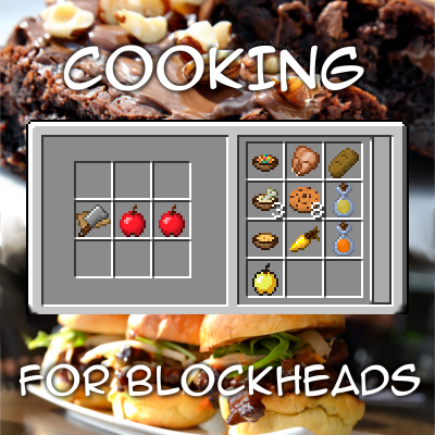Cooking for Blockheads мод для майнкрафт 1.7.10