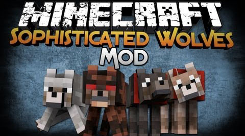 Мод Sophisticated Wolves 1.8.9/1.9