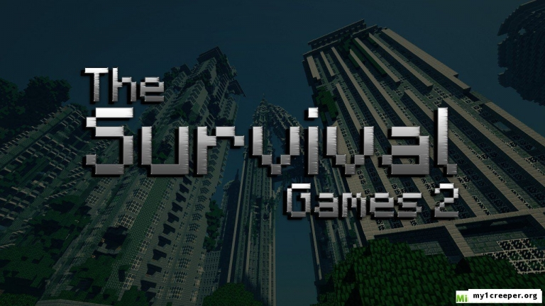 Карту the survival games 2 для minecraft
