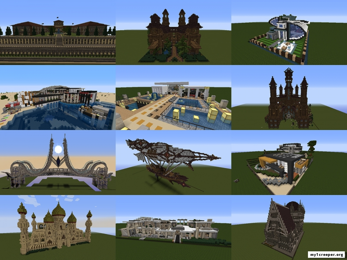 Мод instant structures by maggicraft для майнкрафт 1.7.10