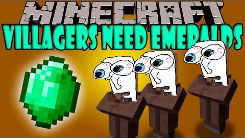 Villagers Need Emeralds мод 1.7.2